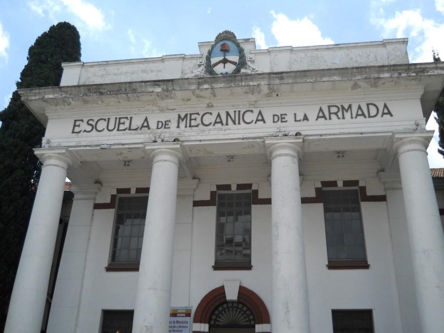 La sede de la ESMA.