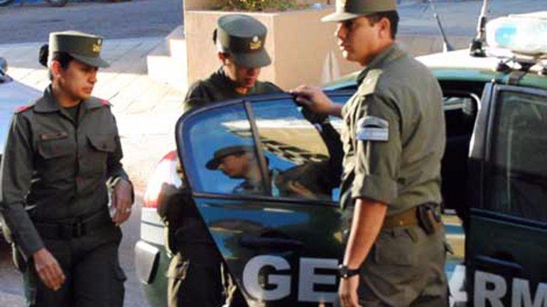 Los gendarmes desembarcaron en el conurbano.