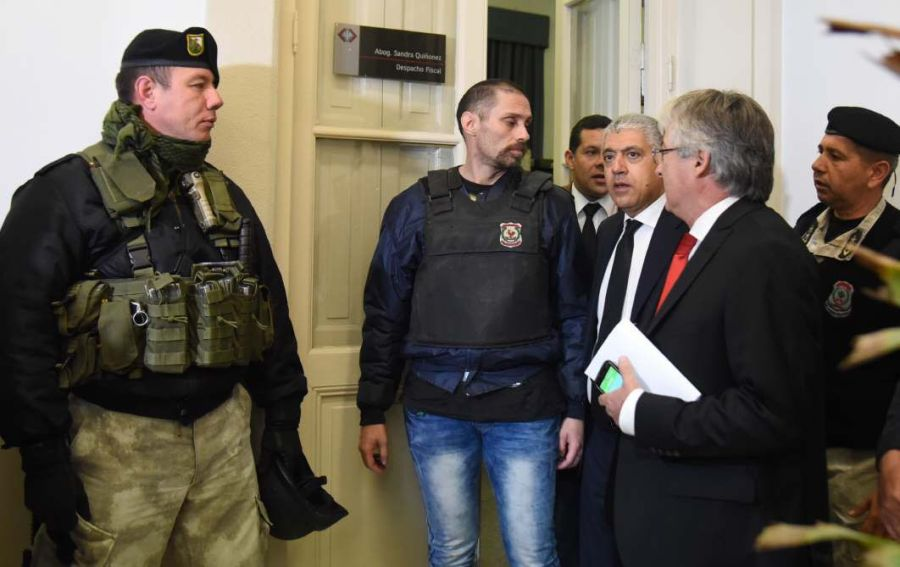 Pérez Corradi está detenido en Gendarmería.