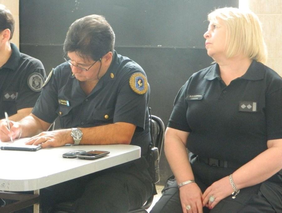 Gavilán y Corbo, dos de los comisarios cuestionados.