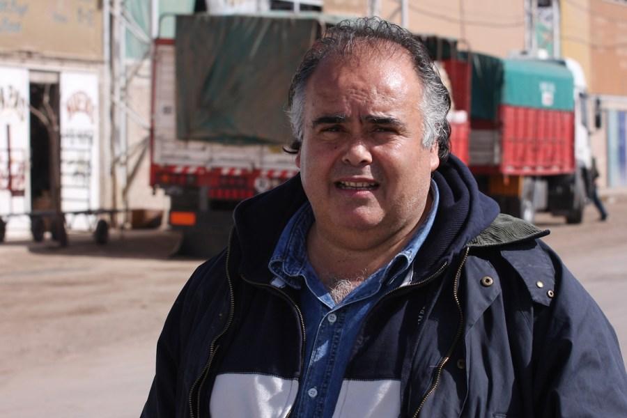 Casillo es titular de la feria Punta Mogotes.