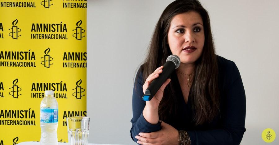 Guevara Rosas durante la conferencia de prensa.