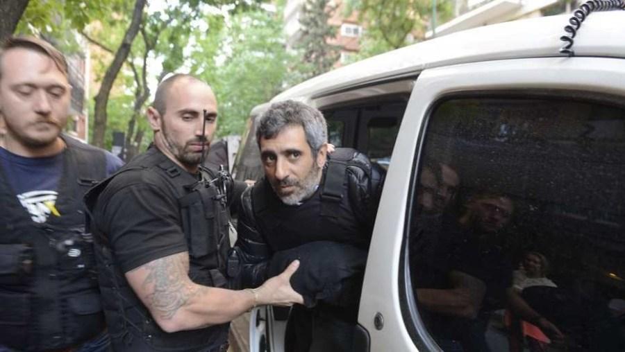 La detención de Roberto Baratta.