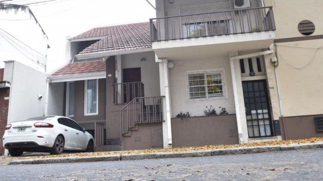 La casa donde vivía el juez hasta hace unos meses.