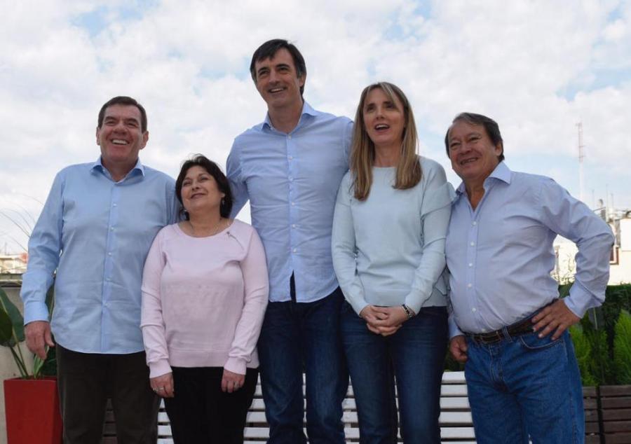 Los candidatos de Cambiemos en 2017.