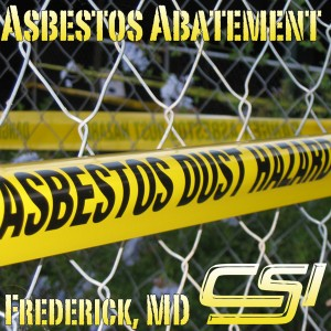 Asbestos Remediation Frederick MD