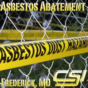 Asbestos Remediation Frederick MD