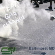 Baltimore MD Tear Gas Cleanup