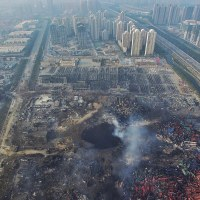 The Tianjin Blasts.