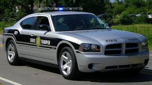 NC highway patrol car