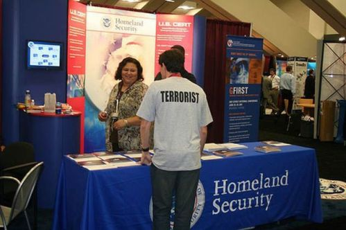 Terrorist at Homeland Security