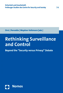 Buchcover Rethinking Surveillance and Control (2017)