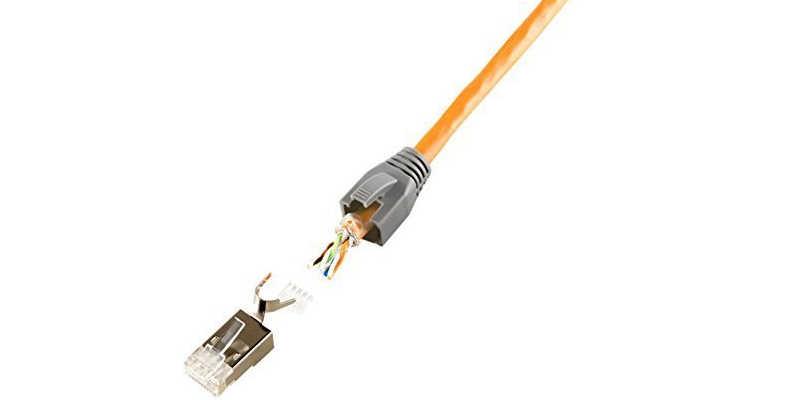 CONECTOR RJ45 para crimpadora de red Ethernet ⭐Crimpadora.com