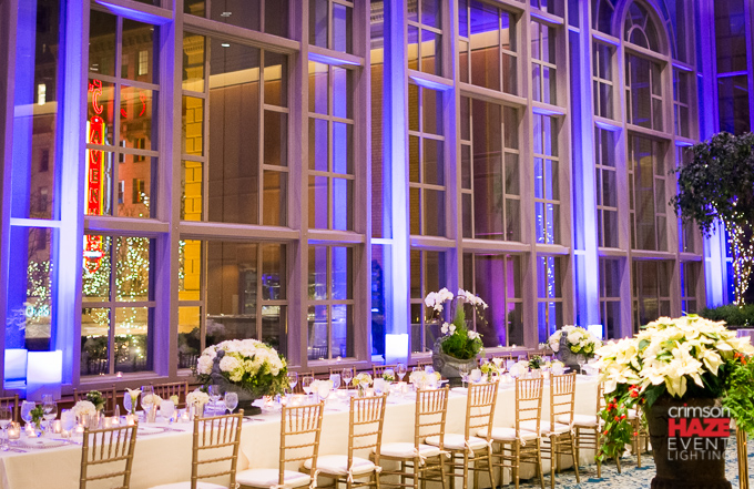 Private dinner reception, Fairmont Olympic Hotel Garden Room, Ja