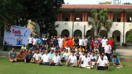 Yoga helps to bring everybody together