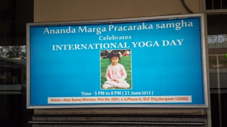 Participation of Ananda Marga to International Yoga Day 2015