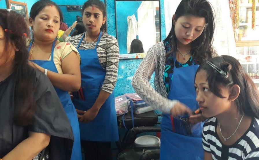 Hairdressing Training