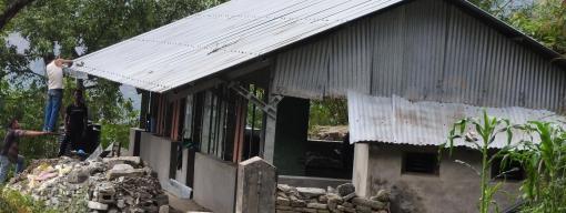 Primary school before renovation