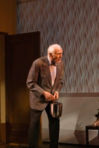 Ray Reinhardt as the cantankerous Dr. Dreyfuss