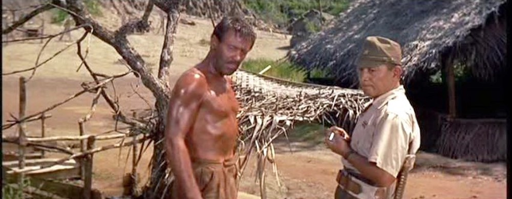 William Holden in THE BRIDGE ON THE RIVER KWAI