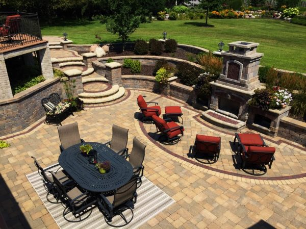 hardscape design brick pavers