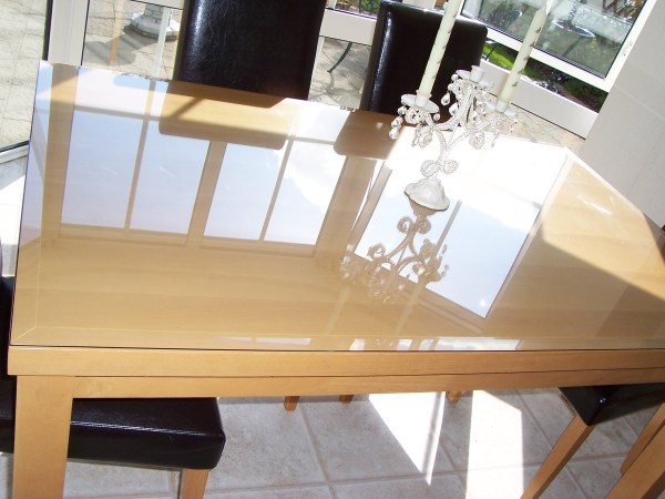 Clear Acrylic Table Top Protector
