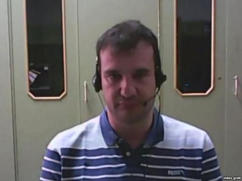 Карлос. Кадр из интервью Russia Today