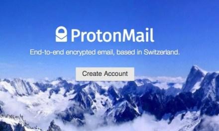 Serviço de correio eletrônico criptografado ProtonMail adota o Bitcoin como método de pagamento