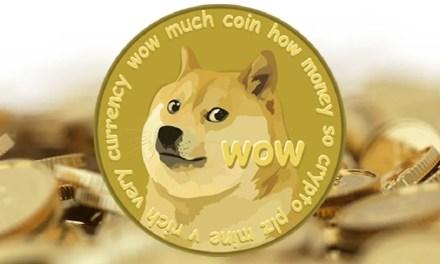 Dogecoin supera o bilhão de dólares em sua capitalização após dois anos sem atualizações