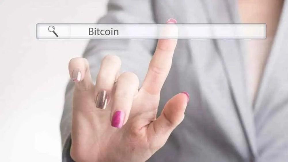 As mulheres representam apenas 9% das procuras relacionadas ao Bitcoin no Google
