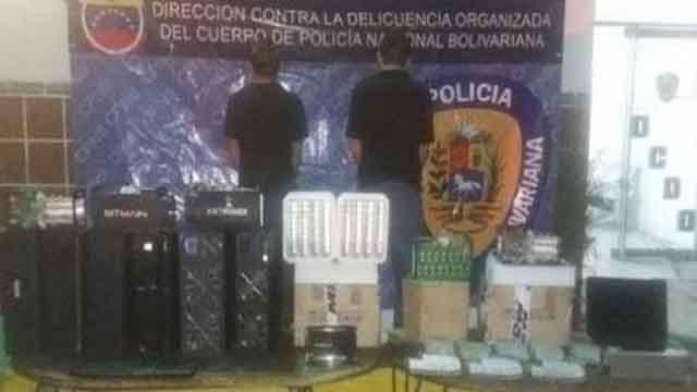 Mineros Bitcoin Venezuela Policia