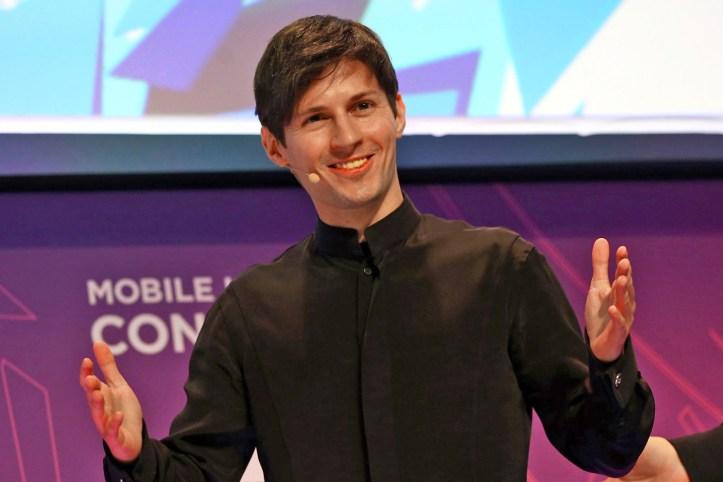 Telegram-Pavel-Durov