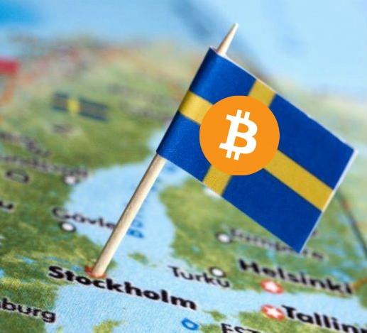 La autoridad fiscal de Suecia acepta bitcoins en forma de pago
