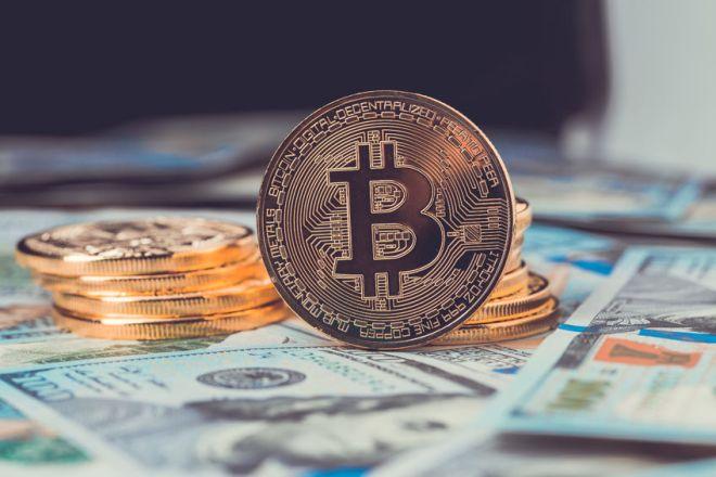 82321504 - golden bitcoin. bitcoin cryptocurrency.