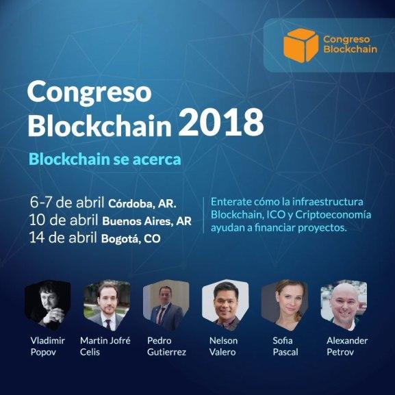 Congreso Blockchain Abril 2018