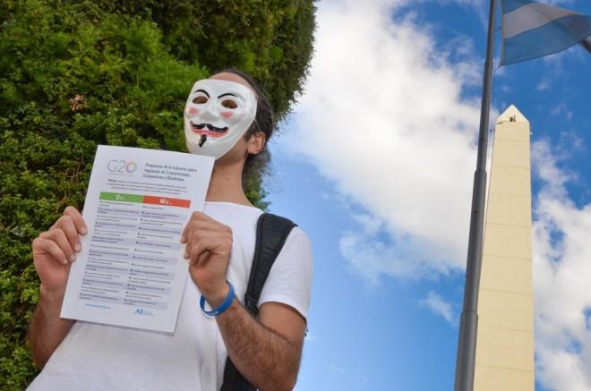 ONG Bitcoin Argentina reclamo G20