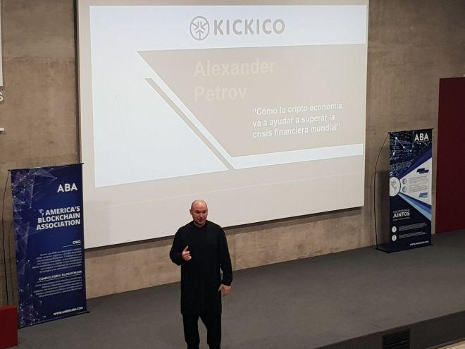 Alexander Petrov Congreso Blockchain 2018
