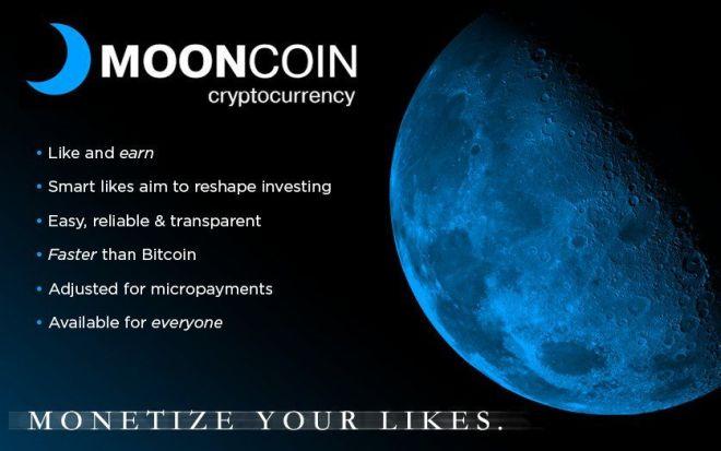 Criptomoneda Mooncoin