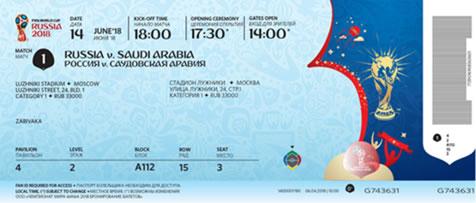 Tickets Mundial de Futbol