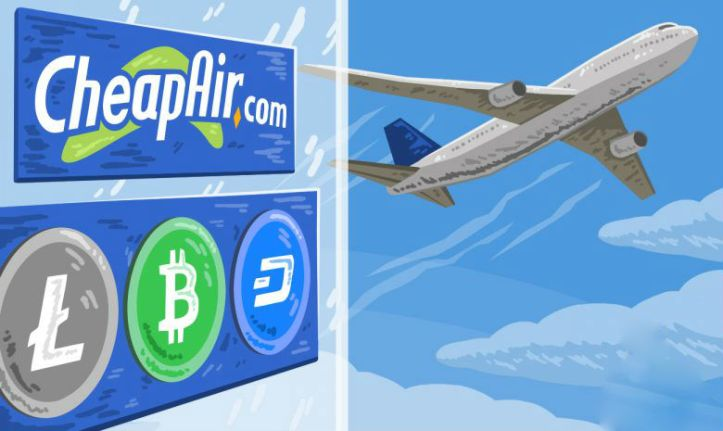 CheapAir Bitcoin Litecoin Dash