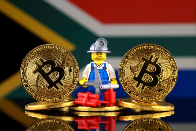 Mineria Bitcoin en Sudafrica