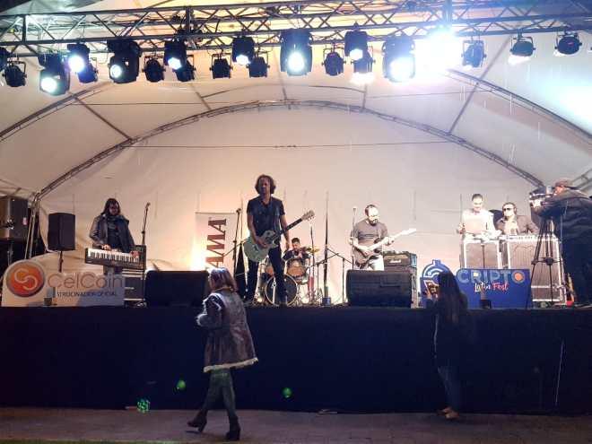 Cierre Cripto Latin Fest Rock