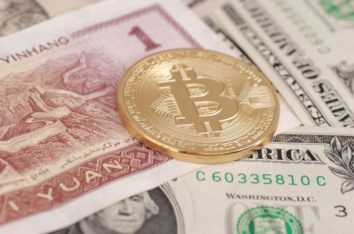 Bitcoin Yuan Chino