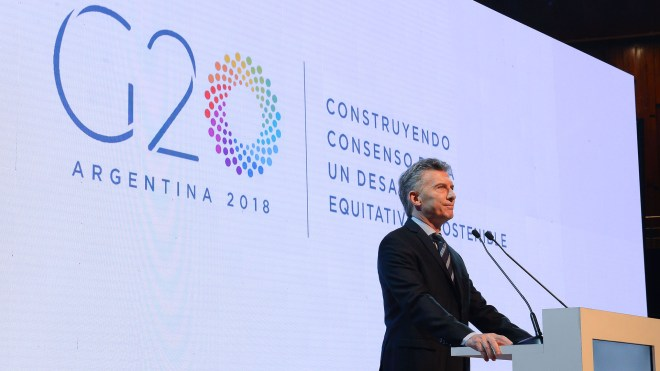 G20 Argentina 2018 - Macri