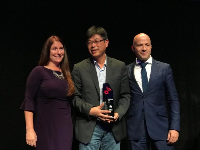 Entrega de premios IOTSWC - Huawei