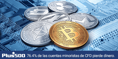 Plus500, broker para invertir en criptomonedas