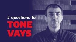 Vamos a hablar del 2019 con Tone Vays