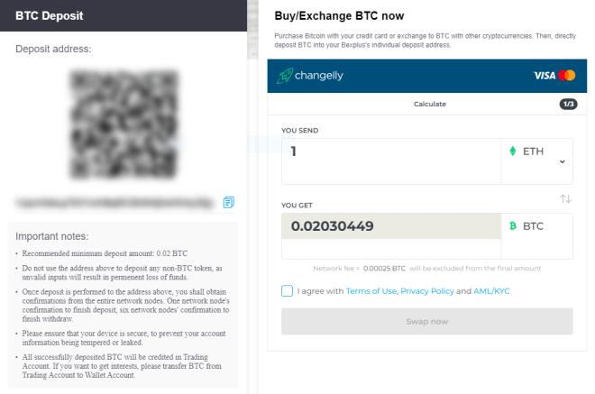 Bexplus - Bitcoin