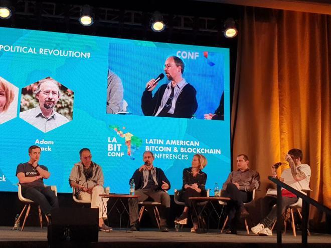 Panel de la Revolución del Bitcoin en laBITconf 2019