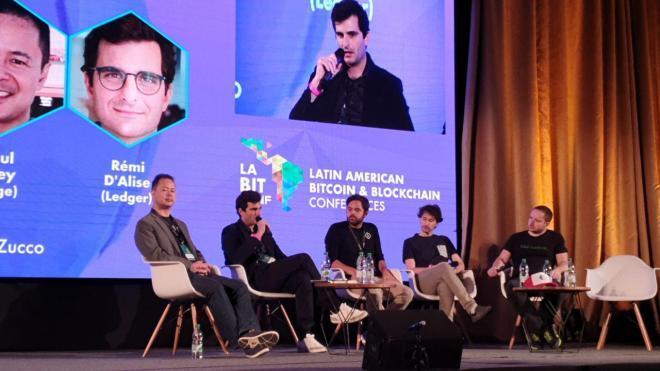 Panel sobre la evolución de las billeteras de criptomonedas en laBITconf 2019